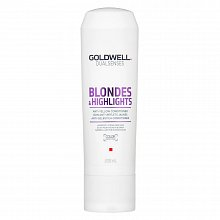 Goldwell Dualsenses Blondes & Highlights Anti-Yellow Conditioner balsam pentru păr blond 200 ml