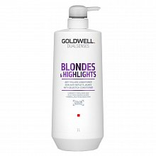 Goldwell Dualsenses Blondes & Highlights Anti-Yellow Conditioner balsamo per capelli biondi 1000 ml