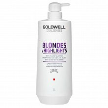 Goldwell Dualsenses Blondes & Highlights Anti-Yellow Shampoo Champú Para cabello rubio 1000 ml