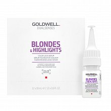 Goldwell Dualsenses Blondes & Highlights Color Lock Serum Pflege ohne Spülung für blondes Haar 12 x 18 ml