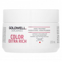 Goldwell Dualsenses Color Extra Rich 60sec Treatment mask for coloured hair 200 ml