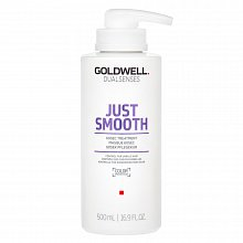 Goldwell Dualsenses Just Smooth 60sec Treatment Mascarilla alisadora Para cabello rebelde 500 ml
