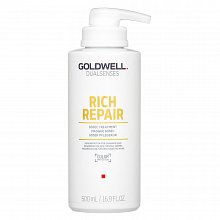 Goldwell Dualsenses Rich Repair 60sec Treatment Mascarilla Para cabello seco y dañado 500 ml