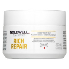 Goldwell Dualsenses Rich Repair 60sec Treatment mask for dry and damaged hair 200 ml