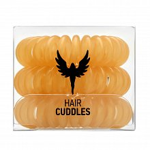 HH Simonsen Hair Cuddles 3 pcs gumička do vlasů Gold