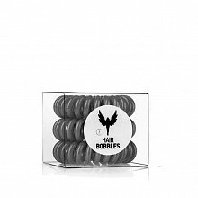 HH Simonsen Hair Cuddles 3 pcs gumička do vlasů Grey
