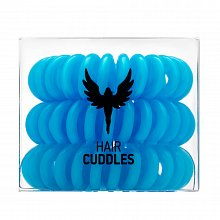 HH Simonsen Hair Cuddles 3 pcs inel de păr Light Blue