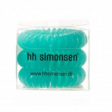 HH Simonsen Hair Cuddles 3 pcs Turqoise gumka do włosów