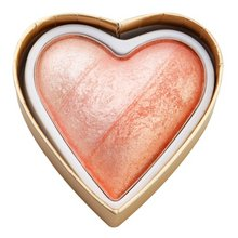 I Heart Revolution Blushing Hearts Peachy Pink Kisses Blusher pudrová tvářenka 10 g