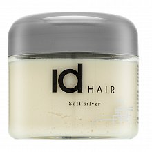 id HAIR Soft Silver hair shaping wax for hold and shining hair 100 ml