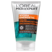 L´Oréal Paris Men Expert Hydra Energetic Unclogging Pores Scrub gel exfoliante Para hombres 100 ml