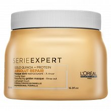 L´Oréal Professionnel Série Expert Absolut Repair Gold Quinoa + Protein Golden Masque Mascarilla Para cabello muy dañado 500 ml