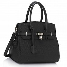 L&S Fashion LS00140 tote black