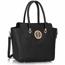 L&S Fashion LS00149 handbag shoulder black