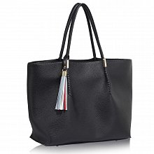 L&S Fashion LS00271 handbag shoulder black