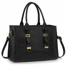 L&S Fashion LS00310A tote black