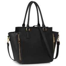 L&S Fashion LS00314A handbag shoulder black