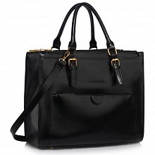 L&S Fashion LS00366A tote black