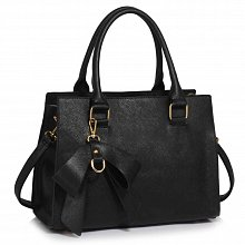 L&S Fashion LS00374C handbag tote black