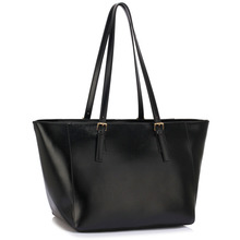 L&S Fashion LS00498 handbag shoulder black