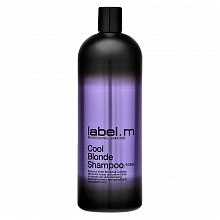Label.M Cool Blonde Shampoo shampoo for platinum blonde and gray hair 1000 ml