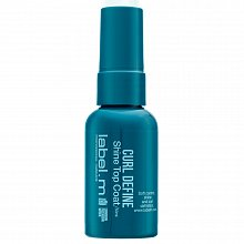 Label.M Curl Define Shine Top Coat serum for shine wavy and curly hair 50 ml