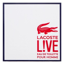 Lacoste Live Pour Homme Eau de Toilette for men 100 ml