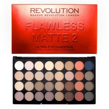 Makeup Revolution Flawless Matte 2 Ultra Eyeshadow Palette paleta cieni do powiek 20 g