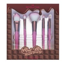 Makeup Revolution Melt Me Chocolate Brush Set zestaw pędzli
