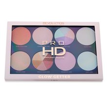 Makeup Revolution Pro HD Amplified Palette Glow Getter paleta multifunkcyjna 24 g
