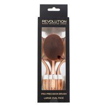Makeup Revolution Pro Precision Brush Large Oval Face Pinsel für Make-up und Puder