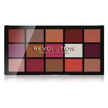 Makeup Revolution Reloaded Eyeshadow Palette - Red Alert paleta cieni do powiek 16,5 g