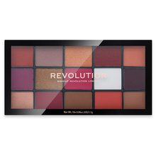 Makeup Revolution Reloaded Eyeshadow Palette - Red Alert палитра сенки за очи 16,5 g