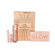 Makeup Revolution The Glow Collection Set подаръчен комплект