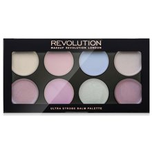 Makeup Revolution Ultra Strobe Balm Palette Cream Highlighter rozświetlacz 12 g