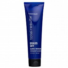 Matrix Total Results Brass Off Blonde Threesome glättende Creme für gefärbtes Haar 150 ml
