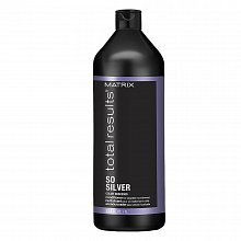 Matrix Total Results Color Obsessed So Silver Conditioner Conditioner für platinblondes und graues Haar 1000 ml