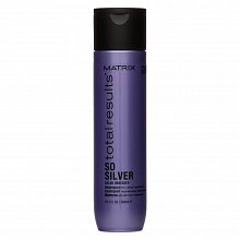 Matrix Total Results Color Obsessed So Silver Shampoo Shampoo für platinblondes und graues Haar 300 ml