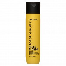 Matrix Total Results Hello Blondie Shampoo Shampoo für blondes Haar 300 ml
