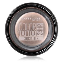 Maybelline New York Color Tattoo 24H 150 Socialite oční stíny 4 g