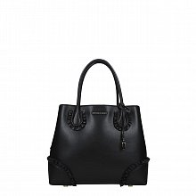 Michael Kors Mercer Gallery leather handbag shoulder black