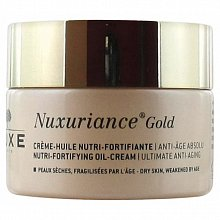 Nuxe Nuxuriance Gold Nutri-Fortifying Oil-Cream gel d'olio per la pelle secca 50 ml