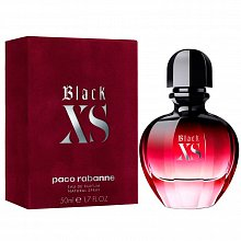 Paco Rabanne XS Black For Her 2018 Eau de Parfum para mujer 10 ml Sprays