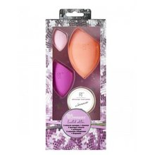 Real Techniques Miracle Beauty Blender Sponge Set with Makeup Brush Cleaner gąbka do makijaż