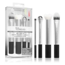 Real Techniques Prep and Prime Makeup Brush Set Brush Set