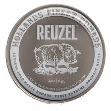 Reuzel Extreme Hold Matte Pomade modeling paste for extra strong fixation 113 g