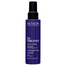 Revlon Professional Be Fabulous Fine Volumizing Spray texturizing spray for fine hair without volume 80 ml