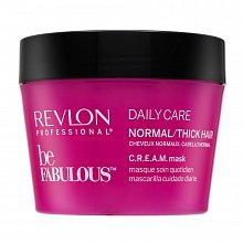 Revlon Professional Be Fabulous Normal/Thick C.R.E.A.M. Mask strenghtening mask for normal to thick hair 200 ml