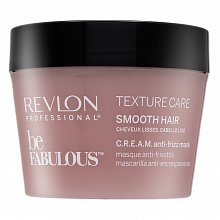 Revlon Professional Be Fabulous Smooth C.R.E.A.M. Anti-Frizz Mask pflegende Haarmaske zur Haarglättung 200 ml