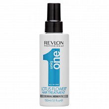 Revlon Professional Uniq One All In One Lotus Flower Treatment strengthening leave-in spray for damaged hair 150 ml
